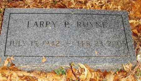 RHYNE, LARRY PAUL - Wood County, West Virginia   LARRY PAUL RHYNE - West Virginia Gravestone Photos