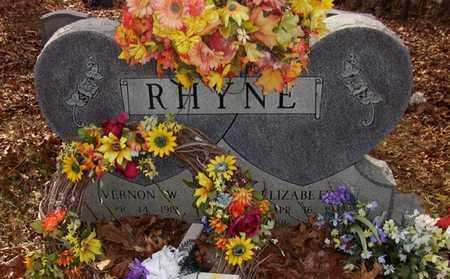 GIVENS RHYNE, ELIZABETH LUCILLE - Wood County, West Virginia   ELIZABETH LUCILLE GIVENS RHYNE - West Virginia Gravestone Photos