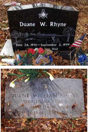 RHYNE (VETERAN VIET), DUANE WILLIAM - Wood County, West Virginia   DUANE WILLIAM RHYNE (VETERAN VIET) - West Virginia Gravestone Photos