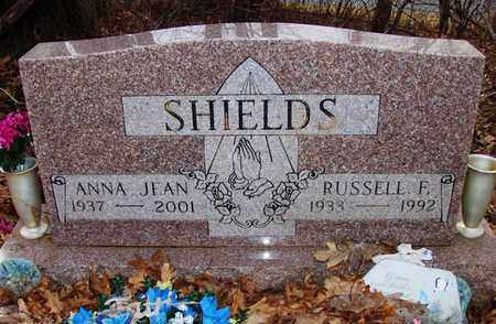 SHIELDS, RUSSELL FLOYD - Wood County, West Virginia | RUSSELL FLOYD SHIELDS - West Virginia Gravestone Photos