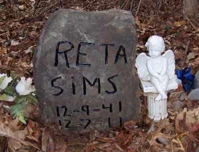 SIMS, RETA ELIZABETH - Wood County, West Virginia | RETA ELIZABETH SIMS - West Virginia Gravestone Photos