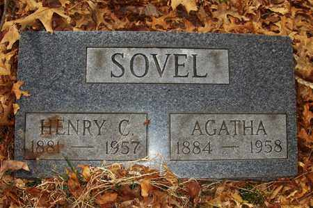 SOVEL, HENRY CLAY - Wood County, West Virginia | HENRY CLAY SOVEL - West Virginia Gravestone Photos