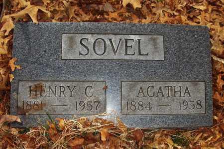 BUCK SOVEL, AGATHA - Wood County, West Virginia | AGATHA BUCK SOVEL - West Virginia Gravestone Photos