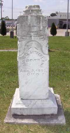SUTHERLAND, JOHN J - Wood County, West Virginia | JOHN J SUTHERLAND - West Virginia Gravestone Photos
