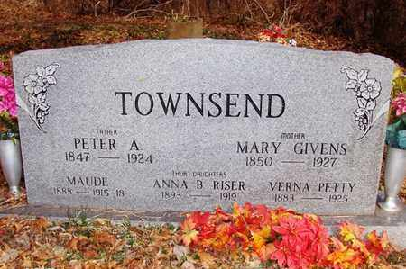GIVENS TOWNSEND, MARY - Wood County, West Virginia | MARY GIVENS TOWNSEND - West Virginia Gravestone Photos