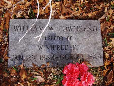 TOWNSEND, WILLIAM WALTER - Wood County, West Virginia | WILLIAM WALTER TOWNSEND - West Virginia Gravestone Photos